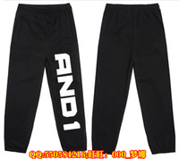 ball pants - New Man Sport And1 and1 Sign Basketball Street Ball Long Joggers Pants Cotton Trousers Pants