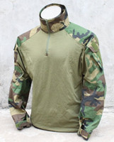 Cheap Wholesale-G TMC G3 Combat Shirt ( Woodland ) Tactical Shirt Free Shipping