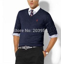 Wholesale New Arrival O Neck Plus Men s Cashmere Pullovers Casual Sweaters Pure Color Basic T Shirt Men Woolen Sweater