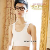 Wholesale New Desgin Brand Binder No Trace Chest Breast Binder Transgender Lesbian Tomboy Binder Black White Color Trans Bra