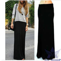 Wholesale Long Black Fitted Skirt - Buy Cheap Long Black Fitted ...