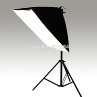 photo equipment - Photography Rectangle Continuous SoftBox Lighting Kit x70cm Softbox Light Stand Photo Studio Equipment Set