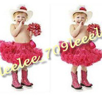 Wholesale MEDIUM FLUFFY pettiskirts fluffy pettiskirt full pettiskirt tutu skirt girls girl s skrit baby skirt