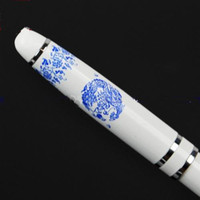 Wholesale Corporate Gift Pen Fountain Pens China Blue and White Porcelain Fountain Pen with Packing Box