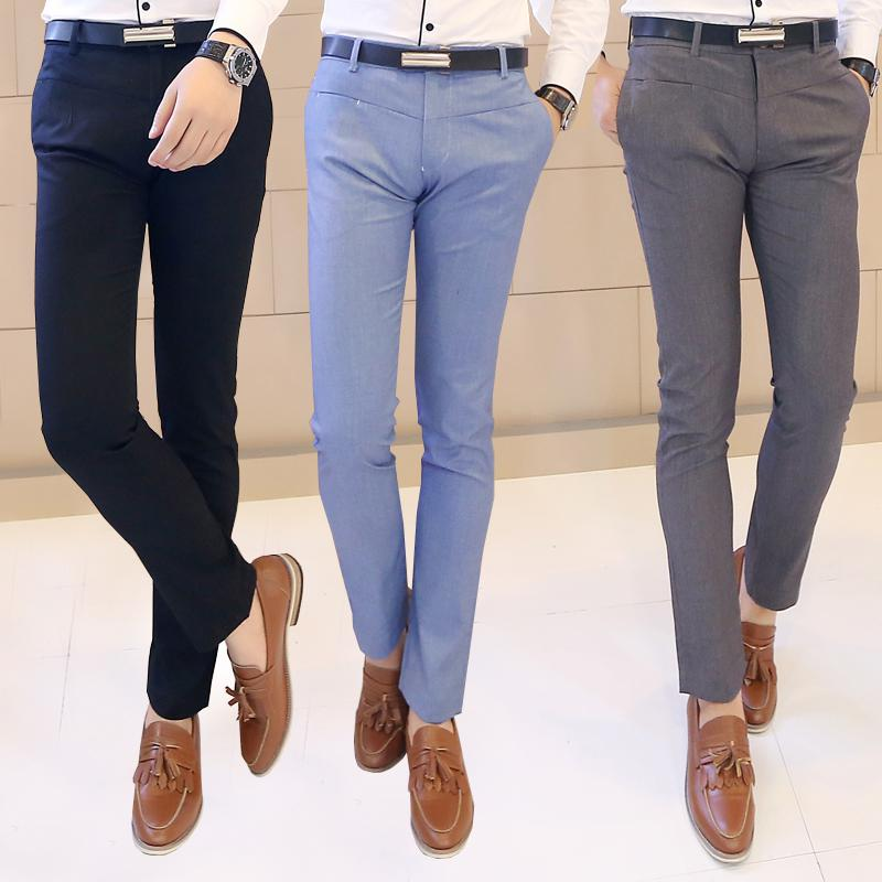 Wholesale-Suit Pants Men Slim Fit Western Trousers New Autumn ...