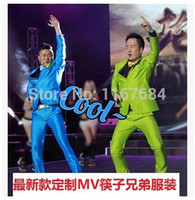 apple brothers - New Chopsticks Brothers custom newest small apple DS costumes star with men s singers suits costumes clothing M XL