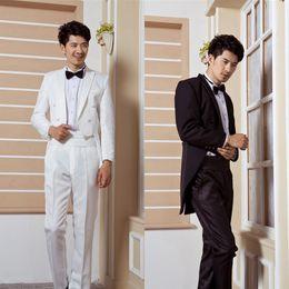 Wholesale-Free shipping Male formal dress set male formal wedding dress bridegroom tuxedo loading costume male formal dress