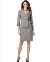 Cotton Women Custom Made Ladies Suits Tailors Suits Gray Womens Suits Custom Made Suits