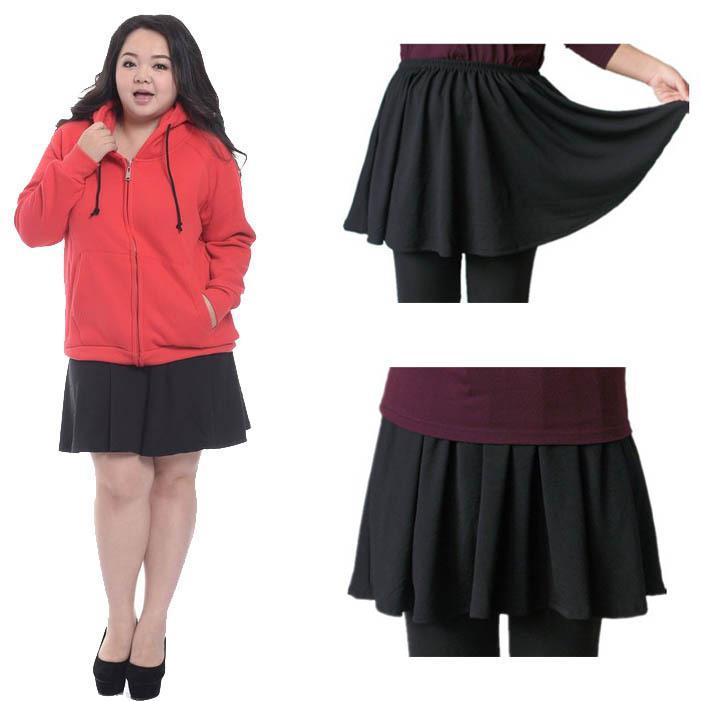 2017 Wholesale 2015 Fashion Big Size Skirt Fat Women Korean ...