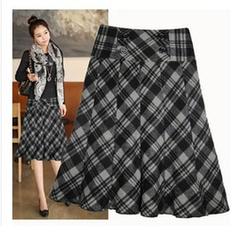 Plus Size Plaid Skirts Online | Plus Size Plaid Short Skirts for Sale