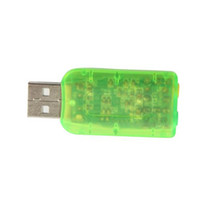 Wholesale USB To d Audio Sound Card Adapter Virtual CH New CT023GR