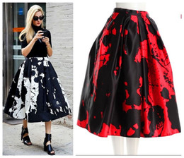 Floral Midi Skirt Online | Floral Print Midi Skirt for Sale