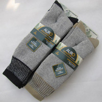 thermal socks - Big Size Thick Men s Wool Socks Winter Men Thermal Sock High Quality men Boot socks Thermo black Mens Crew Hiking socks for
