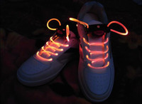Wholesale 20 pairs colors LED Shoe LACES SHOELACES FRRELED Electronics Cool LED Gadgets LED Belts