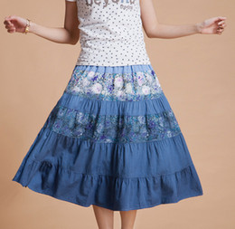 Ladies White Denim Skirt Suppliers | Best Ladies White Denim Skirt ...