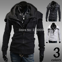 diamond supply co - Diamond Supply Co Men New Odd Future Hoodie Two Piece Slim Fit Assassins Creed Jacket Mens Hoodies And Sweatshirts Coats