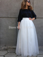 american appareal - Yuppies Fashion quot Long American Appareal Wedding Skirts Bridesmaid Tulle Tutu Prom Ball Gown Plus Size Saias Femininas