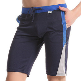 Wholesale-Mens Sport Shorts Brand casual Summer fitness gym men workout cotton skinny Gym Boxing Running Yoga fight Shorts for man