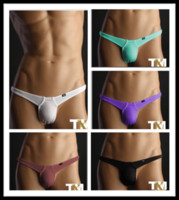 Wholesale TM panties underwears male ultra thin silky panties men s thongs single orders greater than minus