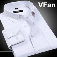 oxford shirts - Man Shirts Wrinkle Resistant Slim Fit Dress Long Sleeve Button Down Fashion Brand Men s Oxford Shirts F0717