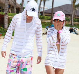 Wholesale FASHION Slim spring autumn couples stripe loose cardigan bask clothes