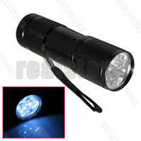 Wholesale 10 Brand new LED Pocket Torch Flashlight Camping Light Lamp