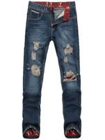 robin jeans - mens jeans brand destroyed hole jeans straight men s robin jeans loose frayed denim true harem jeans men