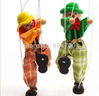 marionette - Cute clown marionette childhood educational toys children s toys