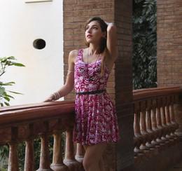 Wholesale-Cheshire Cat Dress Casual Skater Dress Sleeveless Dresses For Women Vestido XS S M L XL XXL Plus Size