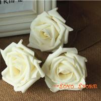 camera shop - White Rose flower shop backdrops Photography camera photo studio background props Artificial foam rose flower decoration