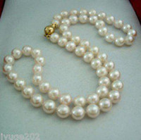 Wholesale FINE PEARLS JEWELRY MM JAPANESE SALTWATER WHITE PEARL NECKLACE quot K