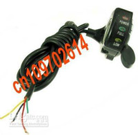bicycle throttle - LED Thumb Throttle for Volt for china made scooters bike bicycle