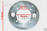 Wholesale Brand New Electric Scooter Gas Scooter Bike Parts Teeth Rear Sprocket