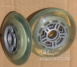 BRAND NEW PU wheel fits roller skate razor scooter baggage case etc.