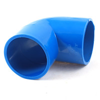 Wholesale Blue mm x mm Degree Equal Elbow PVC Pipe Slip Fitting Coupling