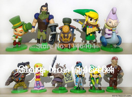 Wholesale-Free Shipping The Legend of Zelda PVC Action Figure Collection Model Toys Dolls Classic Toys 11pcs set