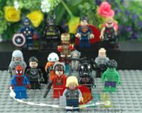 star wars - Christmas Gift Superhero Mini Action Figures Hero VS Star War Block set Without Original Box
