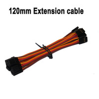Cheap Wholesale-Free shipping 10pcs lot 120mm RC extension lead servo cable JR male to male plug servo cable cord wire cable for aeromodelo