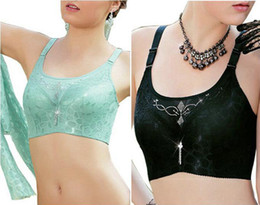Wholesale-sexy lingerie bras for women big size Full Cup D E 38 40 42 44 Black Lace Sequin Bodi Bust Bandeau top income bralet free