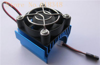 electric fan motor - RC parts Electric Motor Heat Proof Cover Heat Sink and Cooling Fan For HSP Himoto Redcat