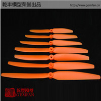rc aircraft propeller - Gemfan x3 quot or x3 quot Orange Direct Drive Electric Propeller EP6030 EP5030 for RC Electric model aircraft Free