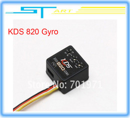 Wholesale KDS KDS820 Dual rate amp Head Lock AVCS Gyro For RC Helicopter D Flying KDS800 Upgrade mini