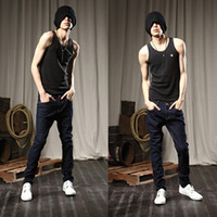 Wholesale Winter famous brand mens jeans pants fashion designer brands jeans men Blue denim Korean Slim jeans for men