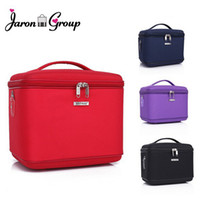 Cheap Wholesale-2015 New Professional Makeup Tools Cosmetic Bags Case Large Makeup Box Bag Large Capacity Storage Box 4 colors free shipping