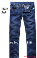 name brand jeans - New arrival discount brand name Jeans fashion causal true branded men straight trendy jeans pants