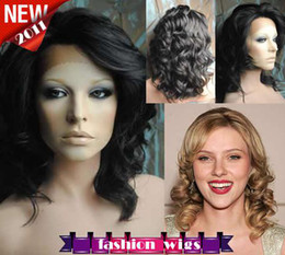 Wholesale New Celebrity Hairstyle quot quot Body Wave B Heat Friendly Synthetic Lace Front Wigs CHS089
