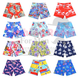 Wholesale Vilebrequin mens BoardShorts sexy brand bermudas surffing men s shorts plus size swimming trunks male beach pants