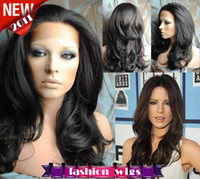 Wholesale XCSUNNY New Celebrity Hairstyle quot quot Body Wave B Heat Friendly Synthetic Lace Front Wigs CHS091