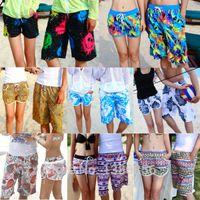 Atacado-2015 homens nova moda bermuda Surf Beach casuais calções / mulheres boardshorts / amantes billabong swimwear de secagem rápida / calças esportivas