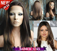 Wholesale New Celebrity Hairstyle quot quot Straight Heat Friendly Synthetic Lace Front Wigs CHS102